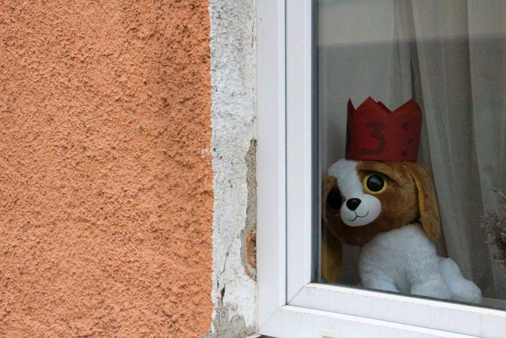 Ein Kinderzimmerfenster in Giesing